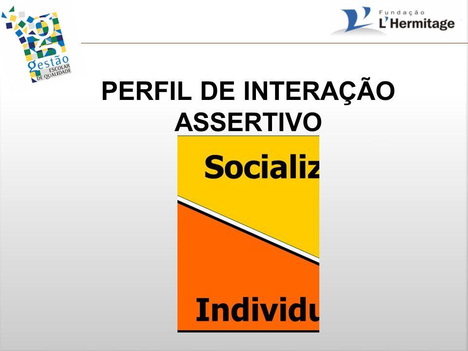PERFIL DE INTERAÇÃO ASSERTIVO