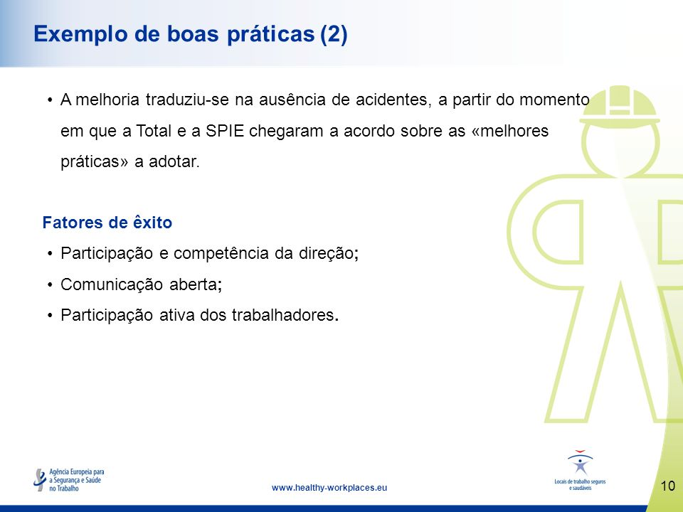 Exemplo de boas práticas (2)