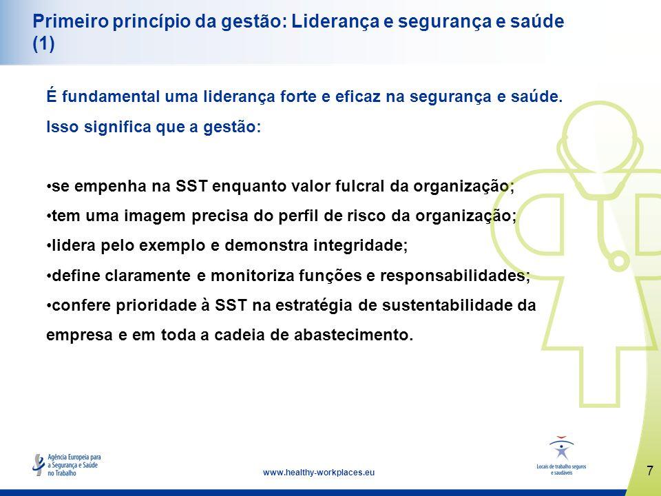 Primeiro princípio da gestão: Liderança e segurança e saúde (1)