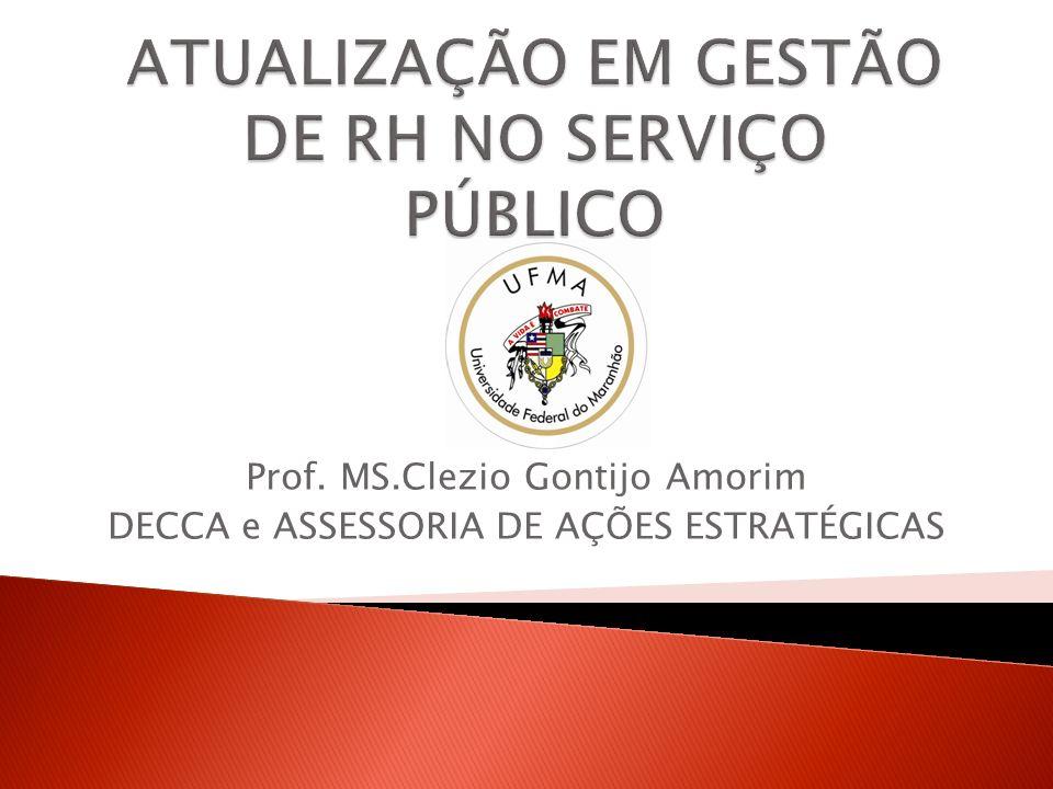 ATUALIZAÇÃO EM GESTÃO DE RH NO SERVIÇO PÚBLICO