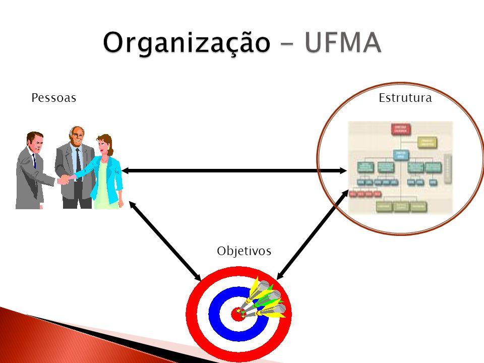 Organização - UFMA Pessoas Estrutura.