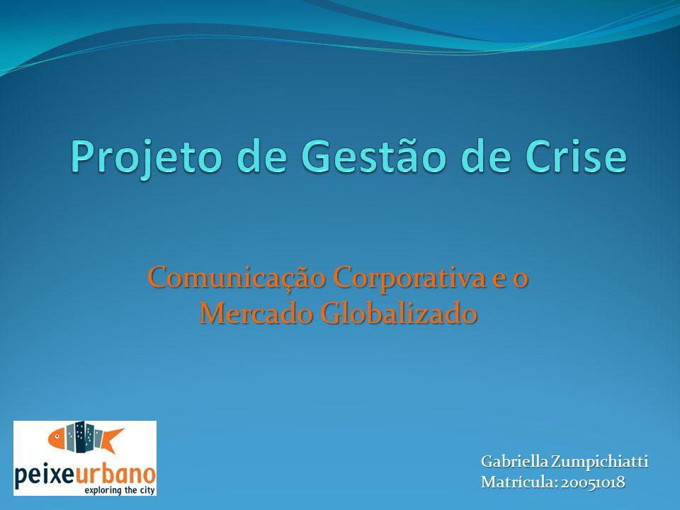 Projeto de Gestão de Crise