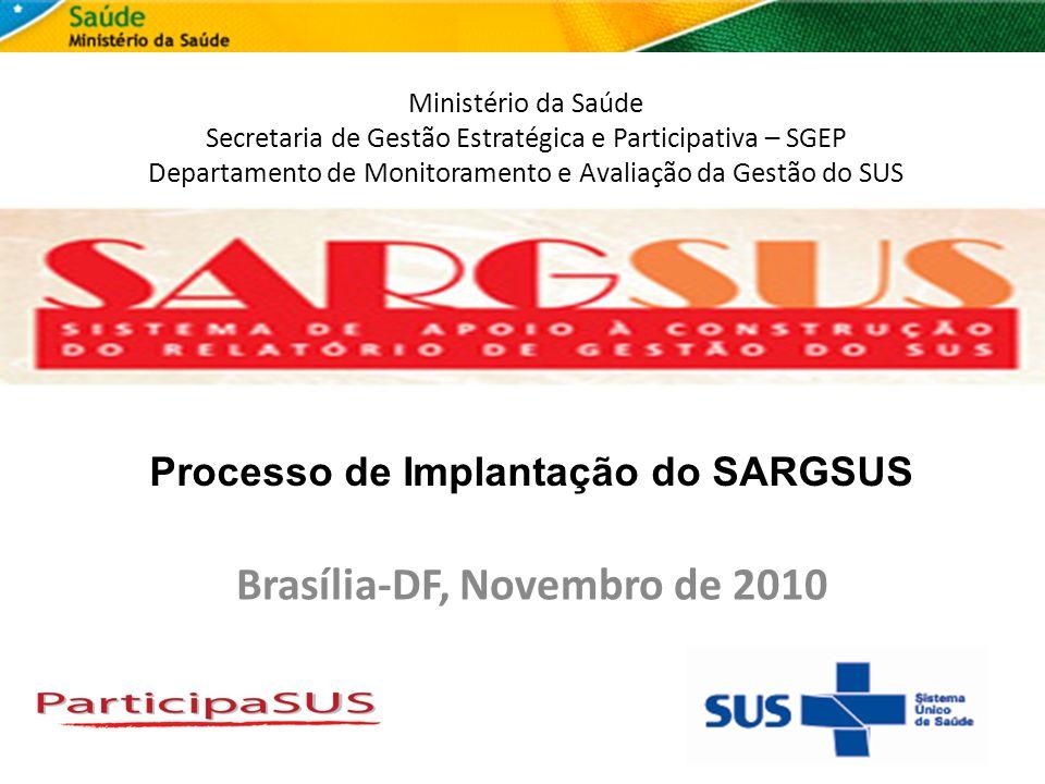 Brasília-DF, Novembro de 2010