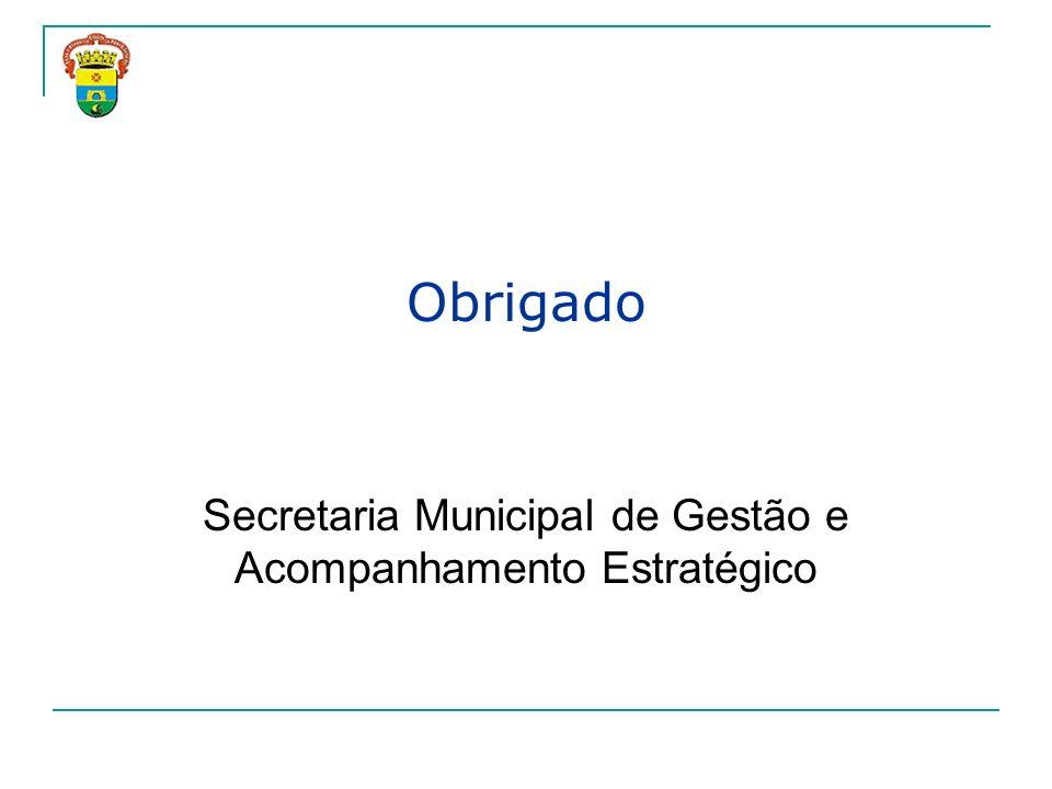 Secretaria Municipal de Gestão e Acompanhamento Estratégico