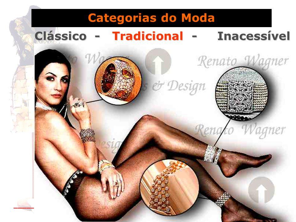 Categorias do Moda Clássico - Tradicional - Inacessível