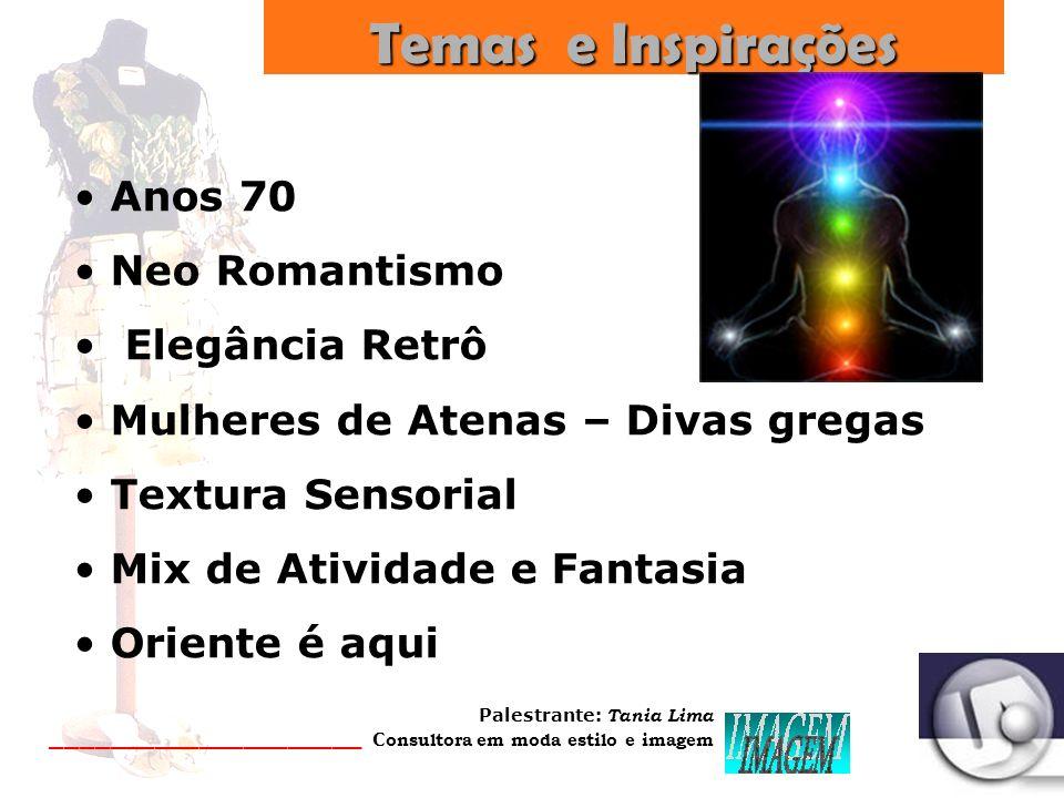 Temas e Inspirações Anos 70 Neo Romantismo Elegância Retrô