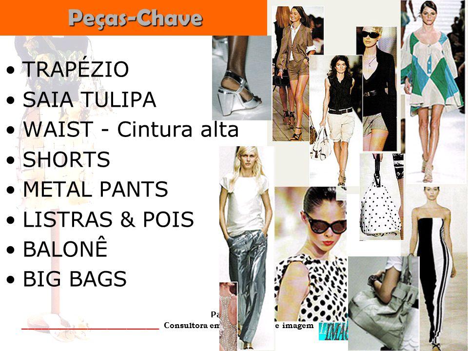 Peças-Chave TRAPÉZIO SAIA TULIPA WAIST - Cintura alta SHORTS