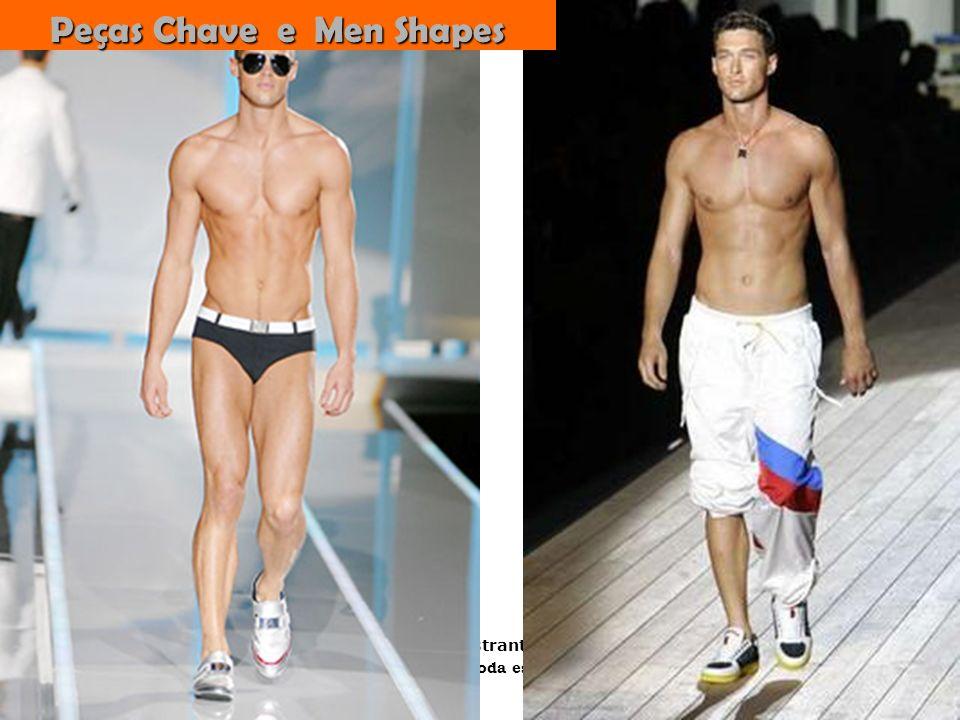 Peças Chave e Men Shapes