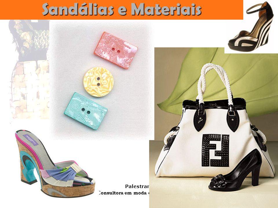 Sandálias e Materiais
