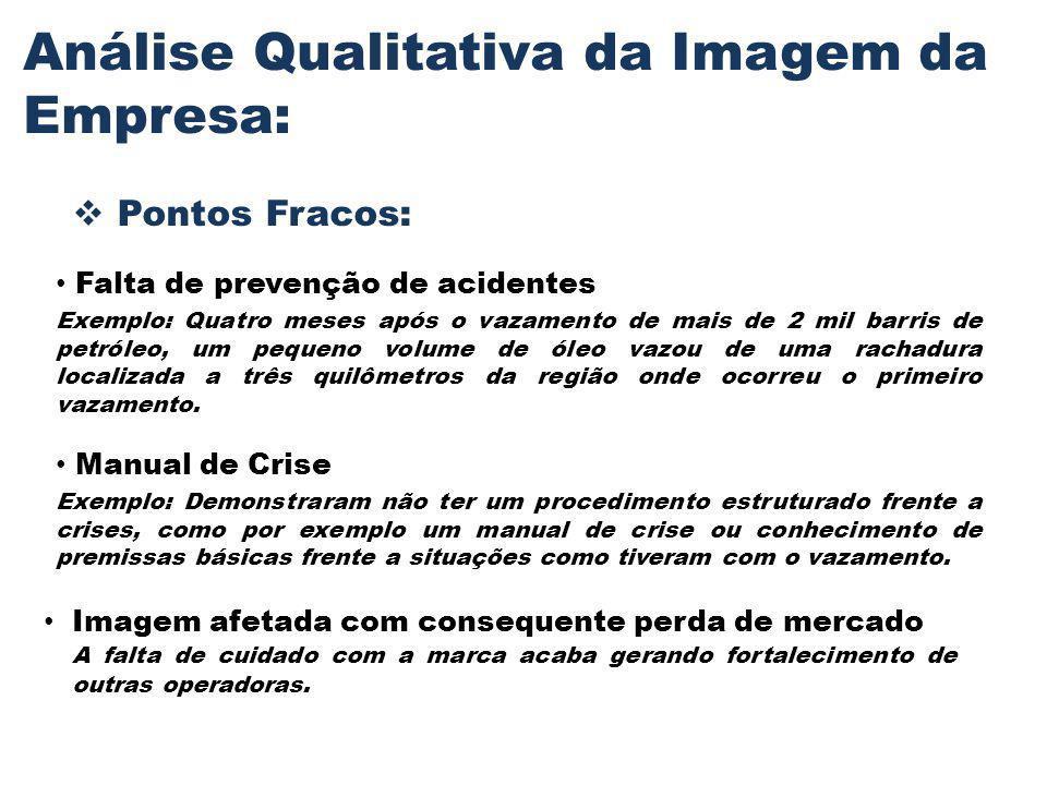 Análise Qualitativa da Imagem da Empresa: