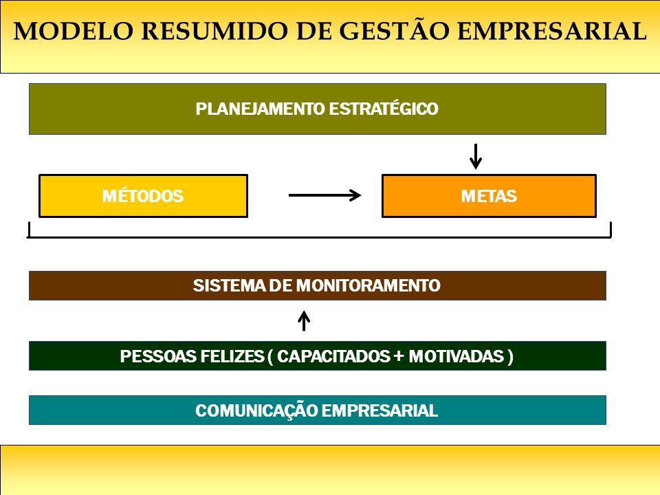 MODELO RESUMIDO DE GESTÃO EMPRESARIAL