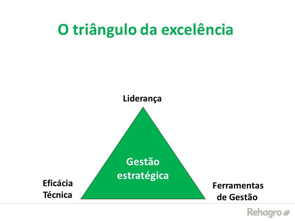 O triângulo da excelência