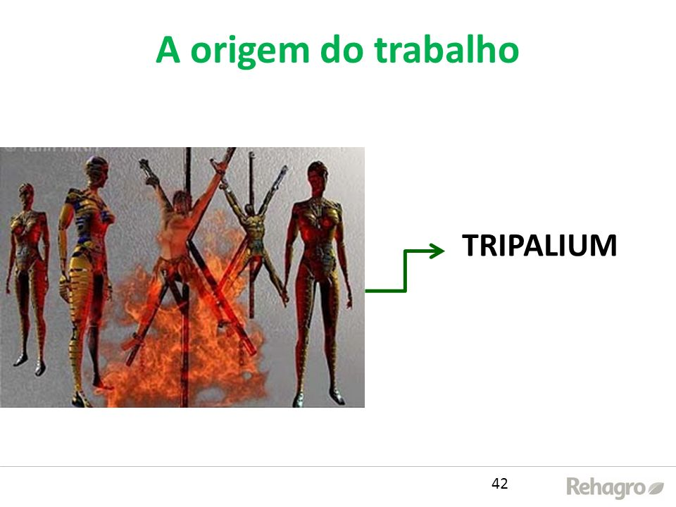 A origem do trabalho TRIPALIUM