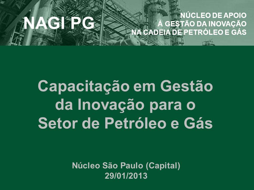 Capacitação em Gestão da Inovação para o Setor de Petróleo e Gás