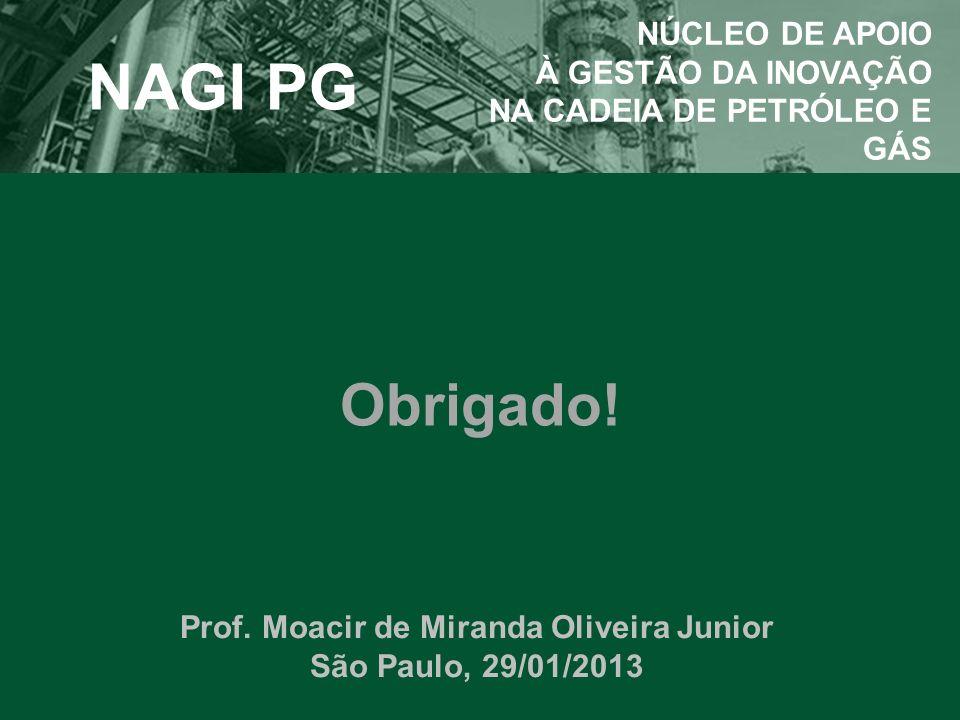 Prof. Moacir de Miranda Oliveira Junior São Paulo, 29/01/2013