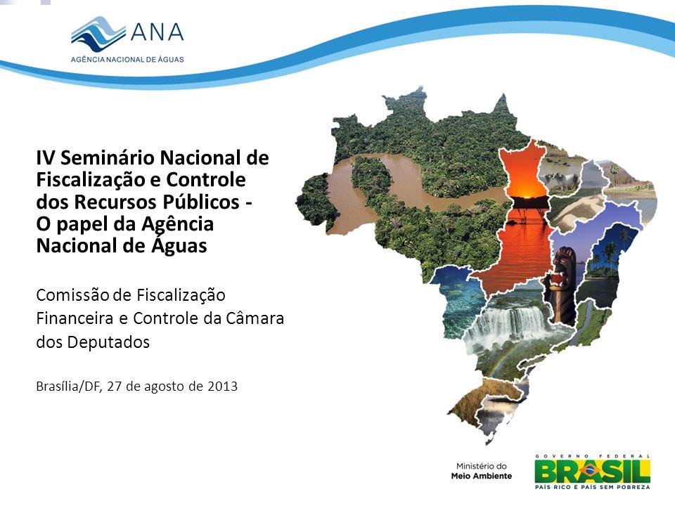 O papel da Agência Nacional de Águas