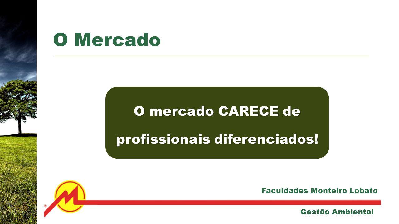 O mercado CARECE de profissionais diferenciados!