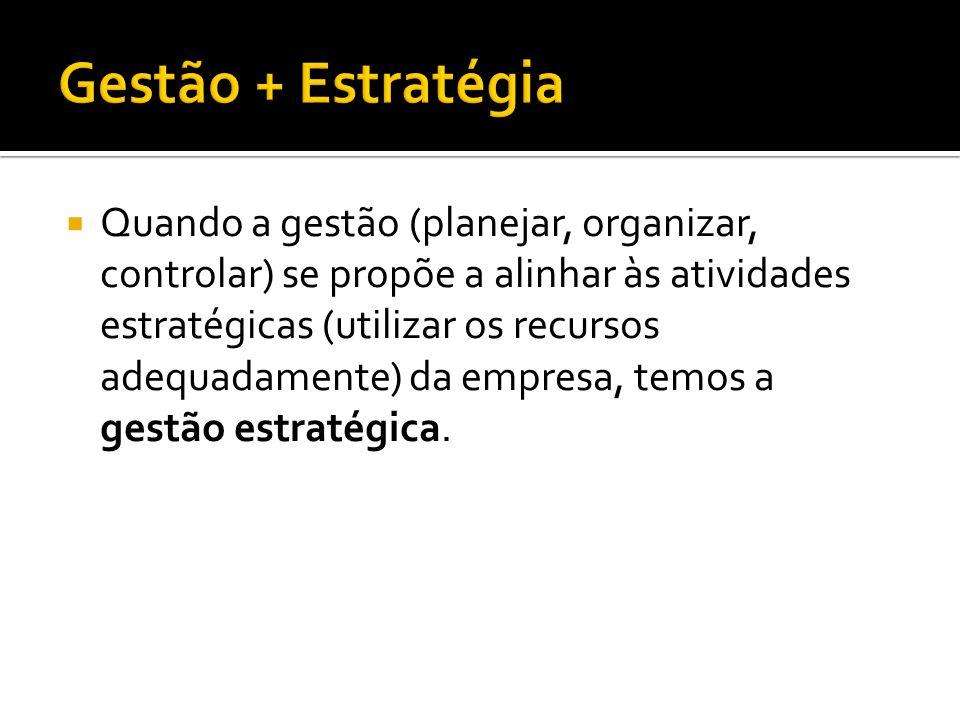 Gestão + Estratégia