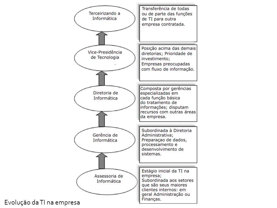 Evolução da TI na empresa