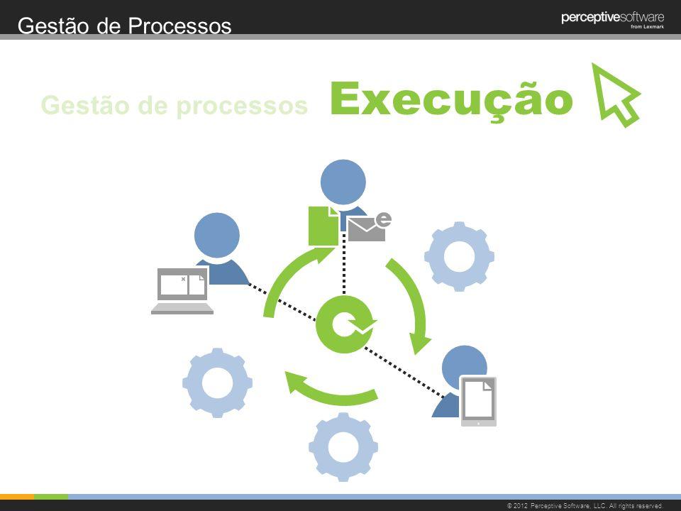 Execução Gestão de processos Gestão de Processos