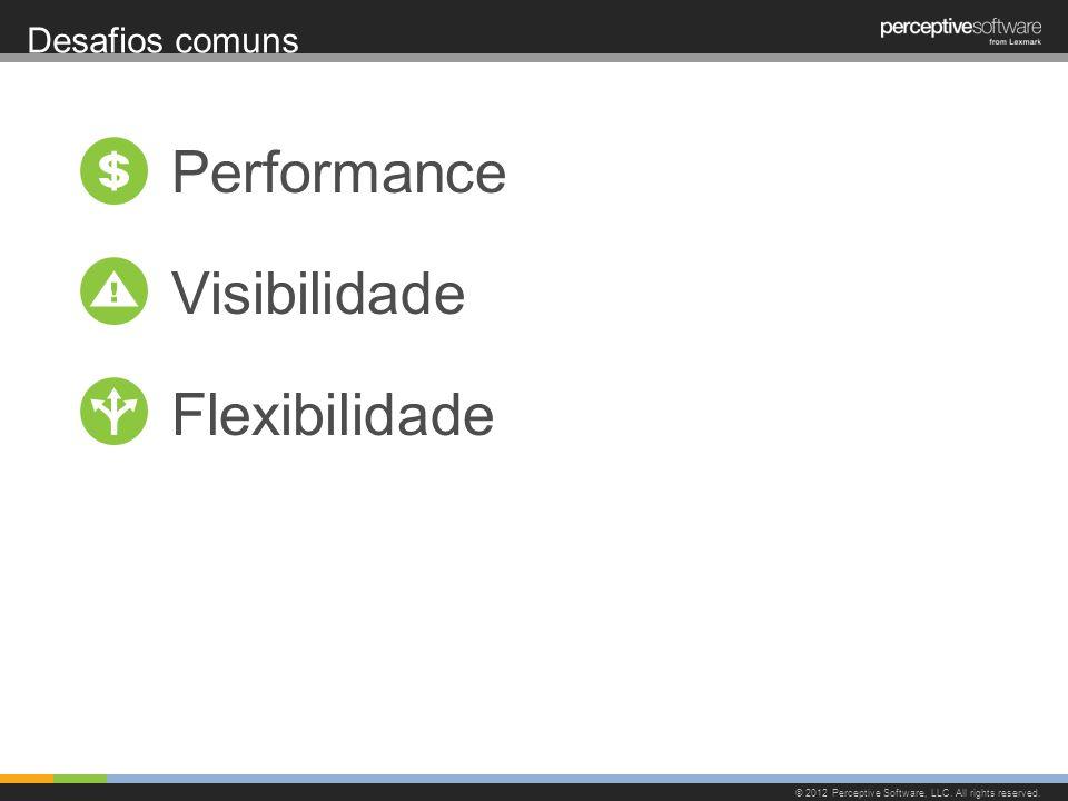 Performance Visibilidade Flexibilidade