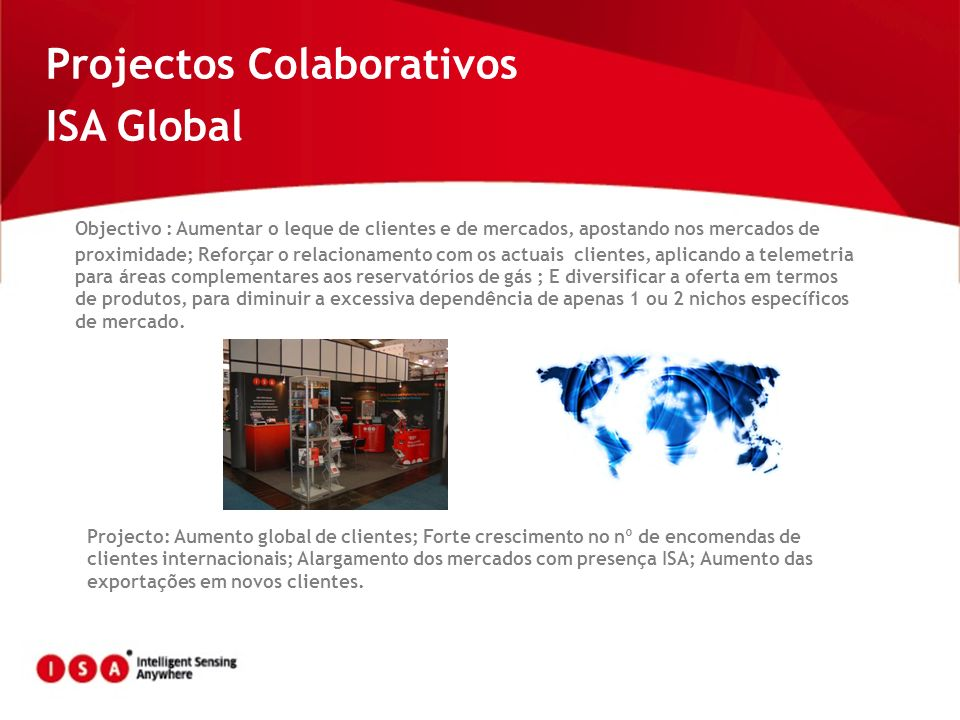 Projectos Colaborativos ISA Global