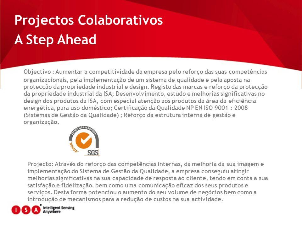 Projectos Colaborativos A Step Ahead
