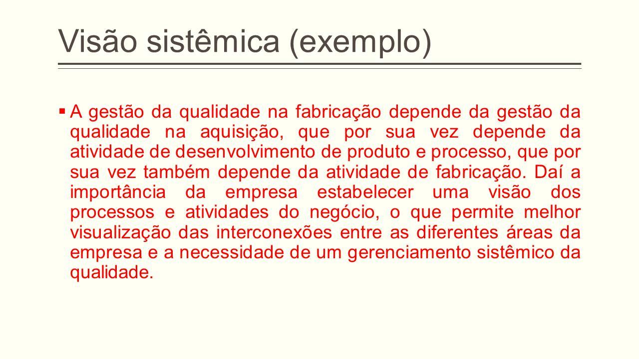 Visão sistêmica (exemplo)