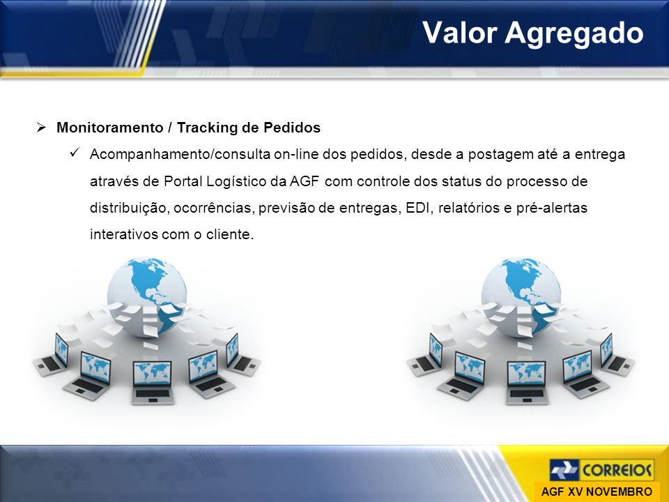Valor Agregado Monitoramento / Tracking de Pedidos