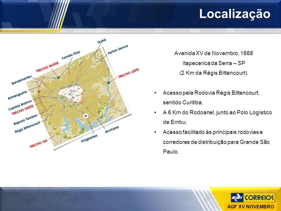 Localização Avenida XV de Novembro, 1668 Itapecerica da Serra – SP