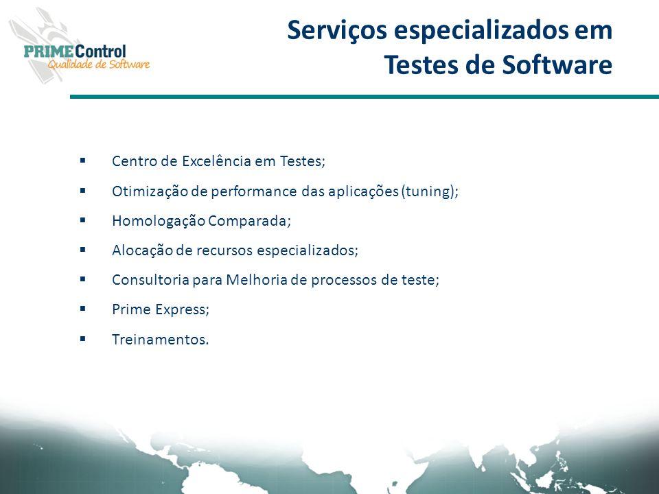 Serviços especializados em Testes de Software