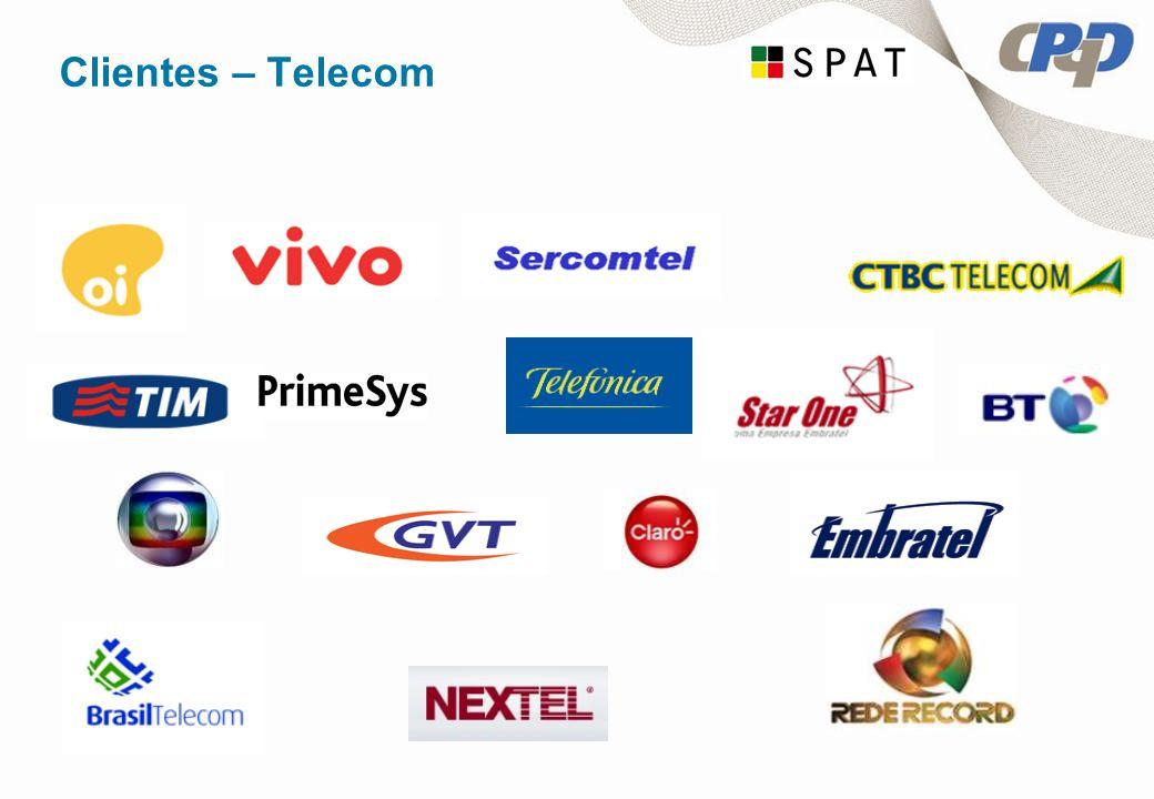 Clientes – Telecom Verificar se a logomarca do cliente esta presente e atualizar se necessário.