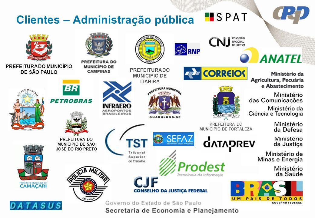 Clientes – Administração pública