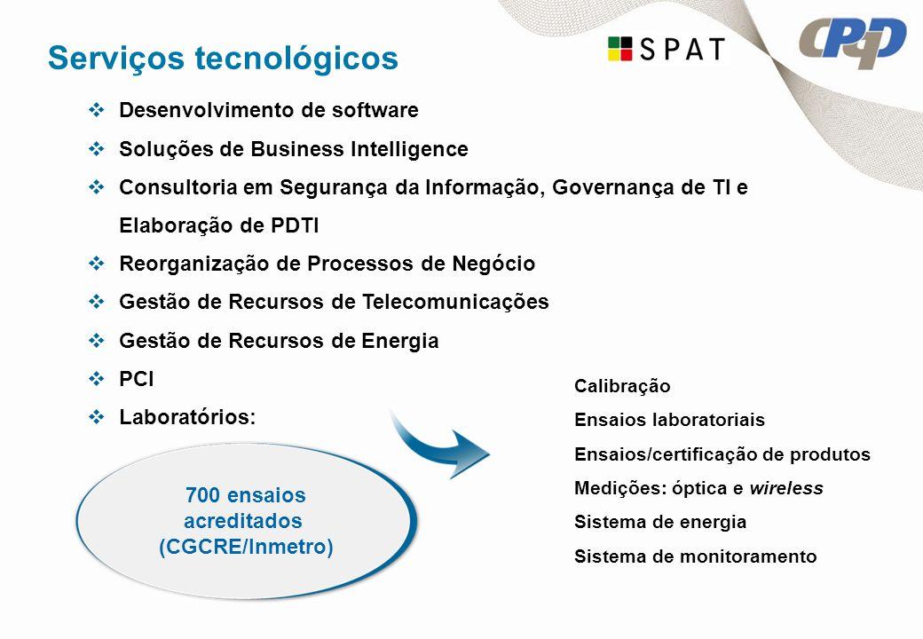 Serviços tecnológicos