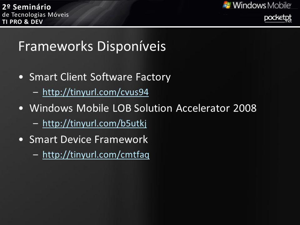 Frameworks Disponíveis