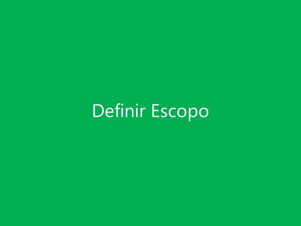 Definir Escopo