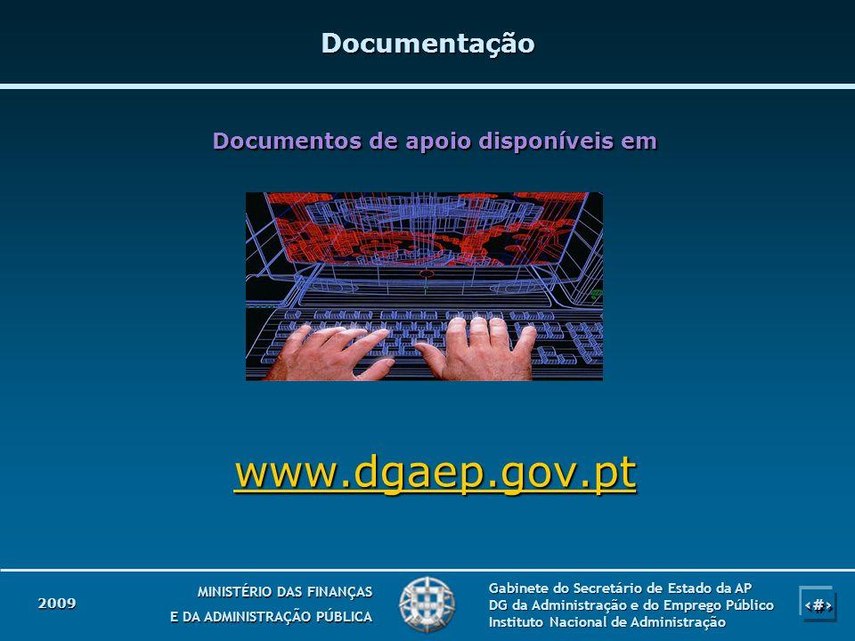 Documentos de apoio disponíveis em