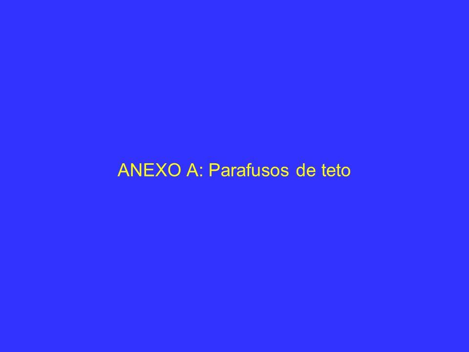 ANEXO A: Parafusos de teto