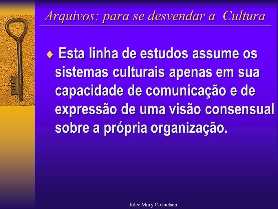 Arquivos: para se desvendar a Cultura