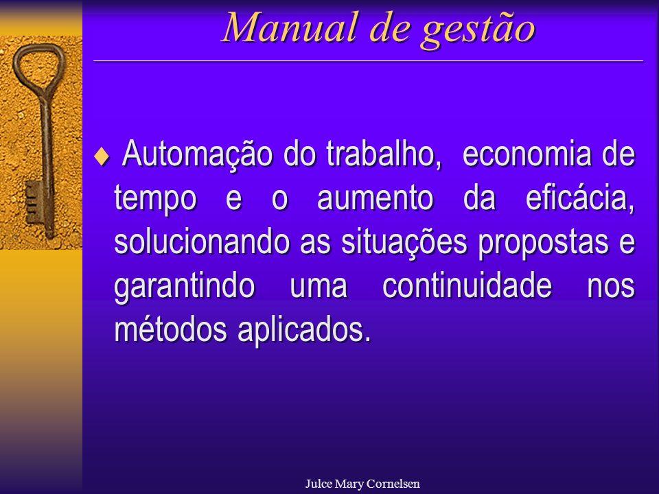 Manual de gestão