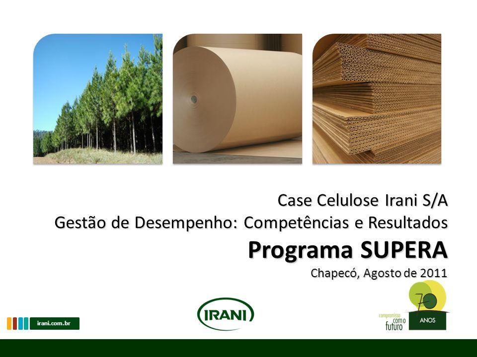Programa SUPERA Case Celulose Irani S/A