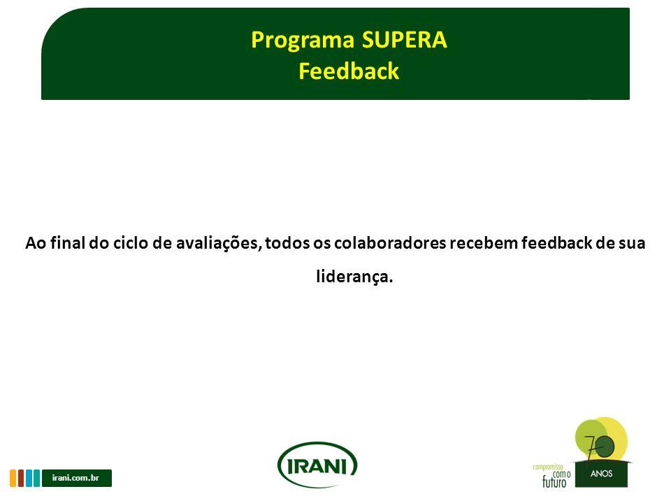 Programa SUPERA Feedback