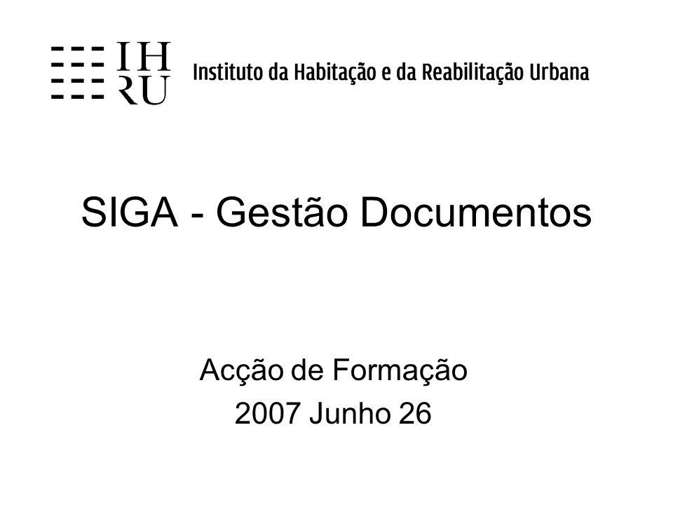 SIGA - Gestão Documentos
