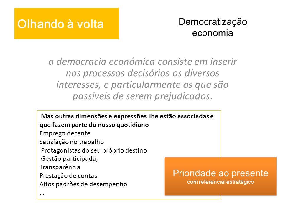 Democratização economia
