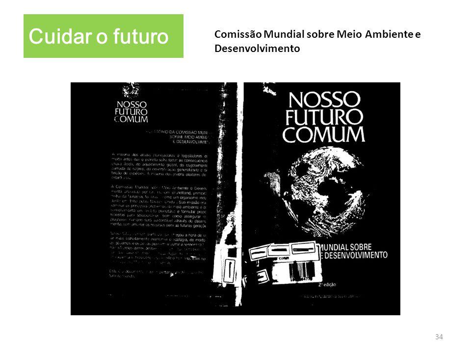 Cuidar o futuro Comissão Mundial sobre Meio Ambiente e Desenvolvimento