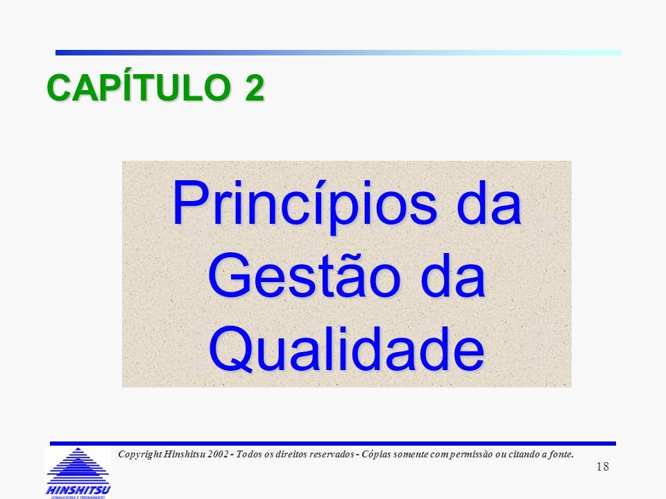 Princípios da Gestão da Qualidade