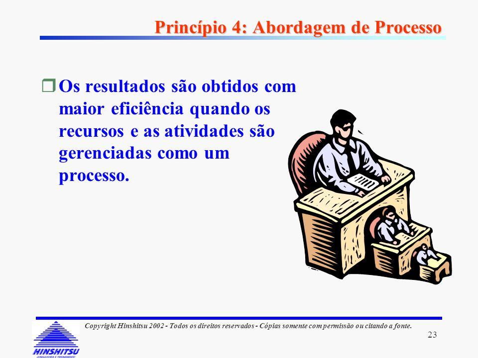 Princípio 4: Abordagem de Processo