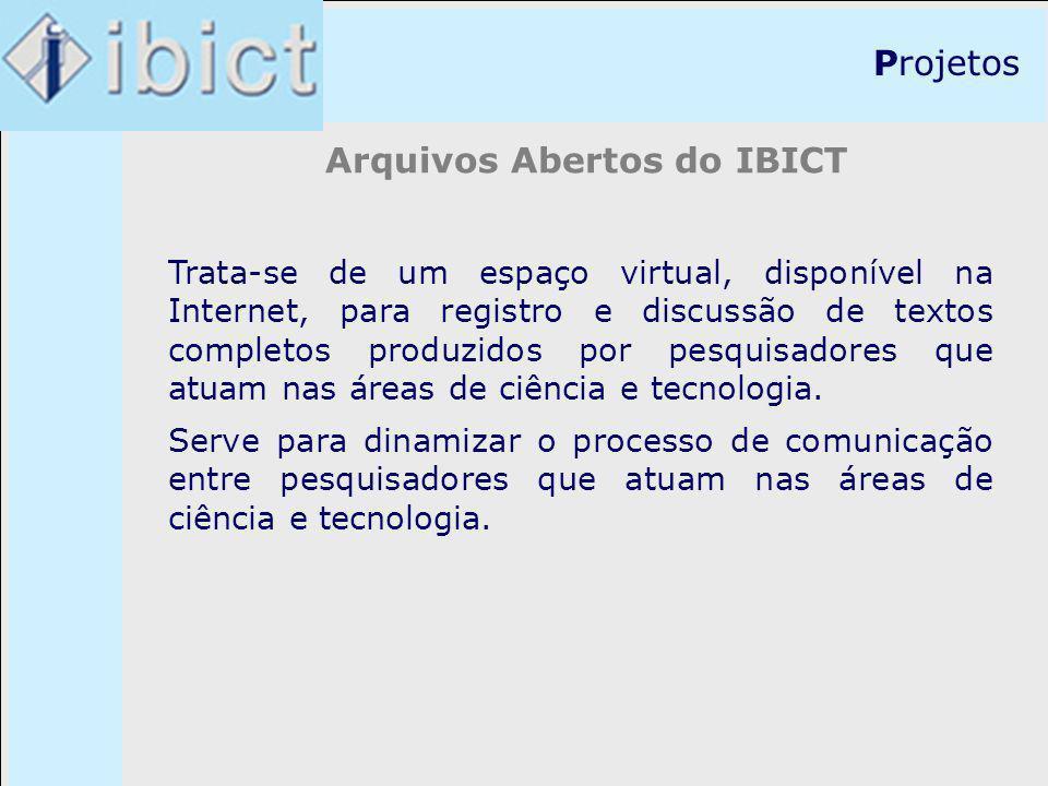 Arquivos Abertos do IBICT