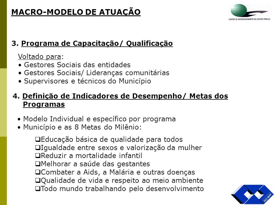 MACRO-MODELO DE ATUAÇÃO