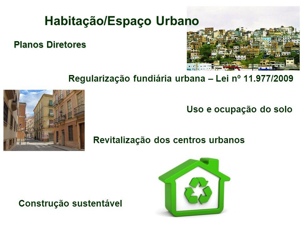 Habitação/Espaço Urbano